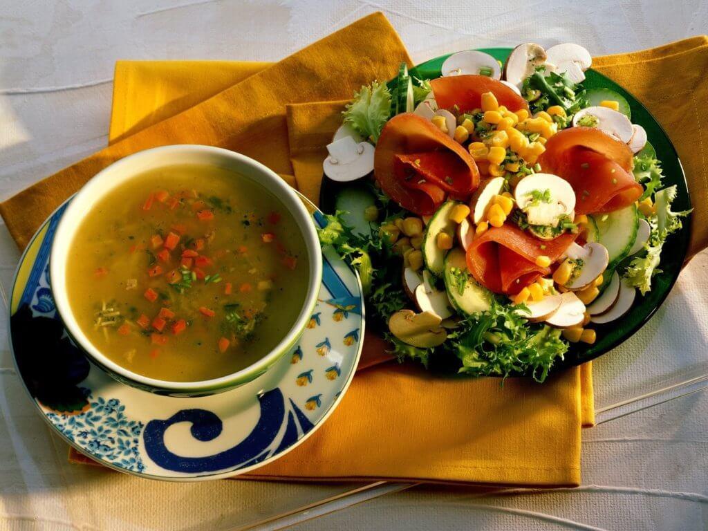 Принципы правильного питания: обед