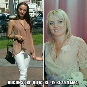 Фото до и после похудения