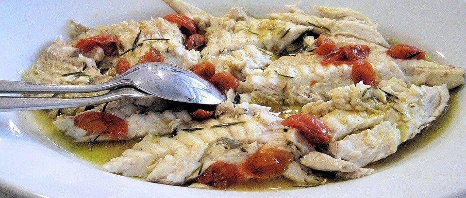 питание летом-рыба
