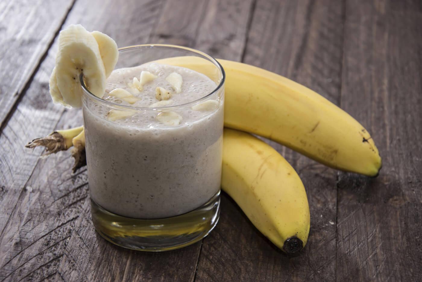 Как сделать банановый коктейль в домашних условиях рецепт