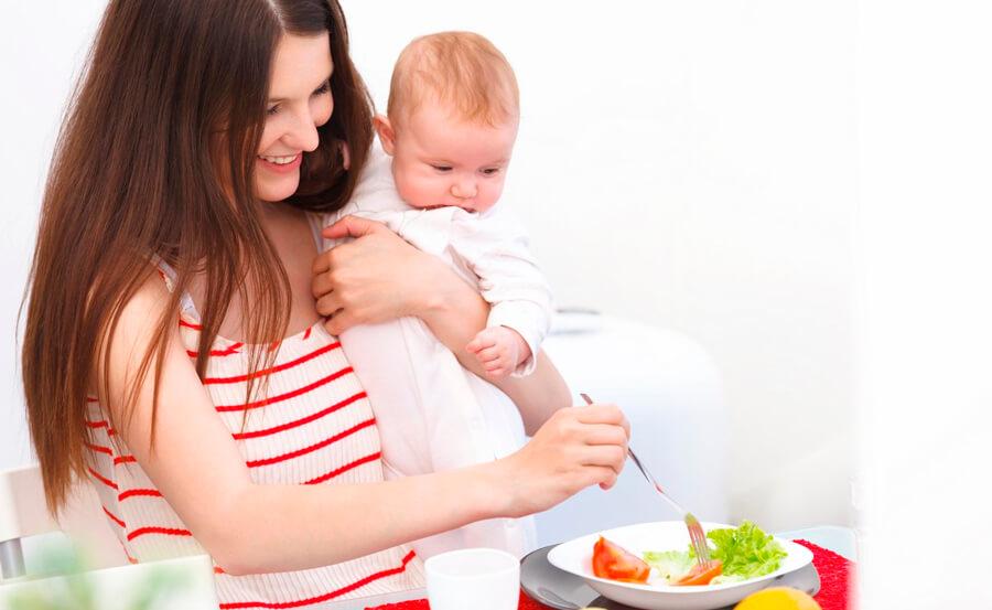 Диета для лактации и восстановления после родов