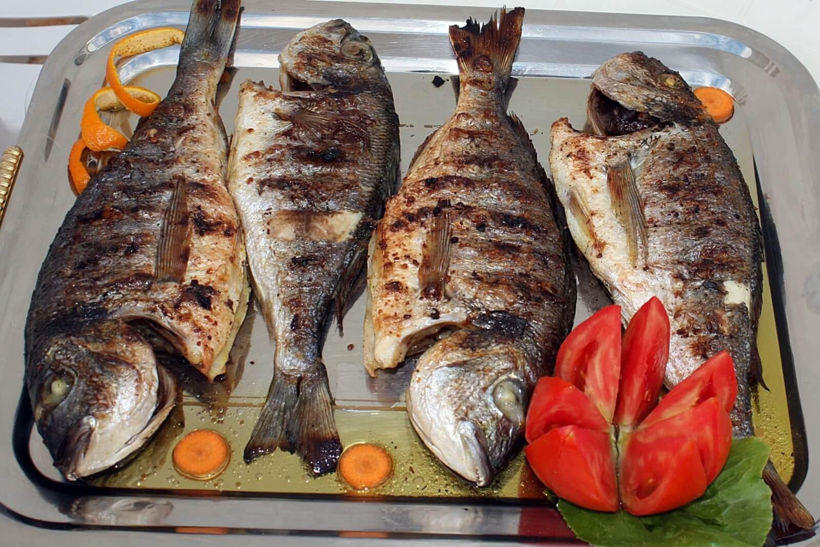 сорта рыбы: морская рыба