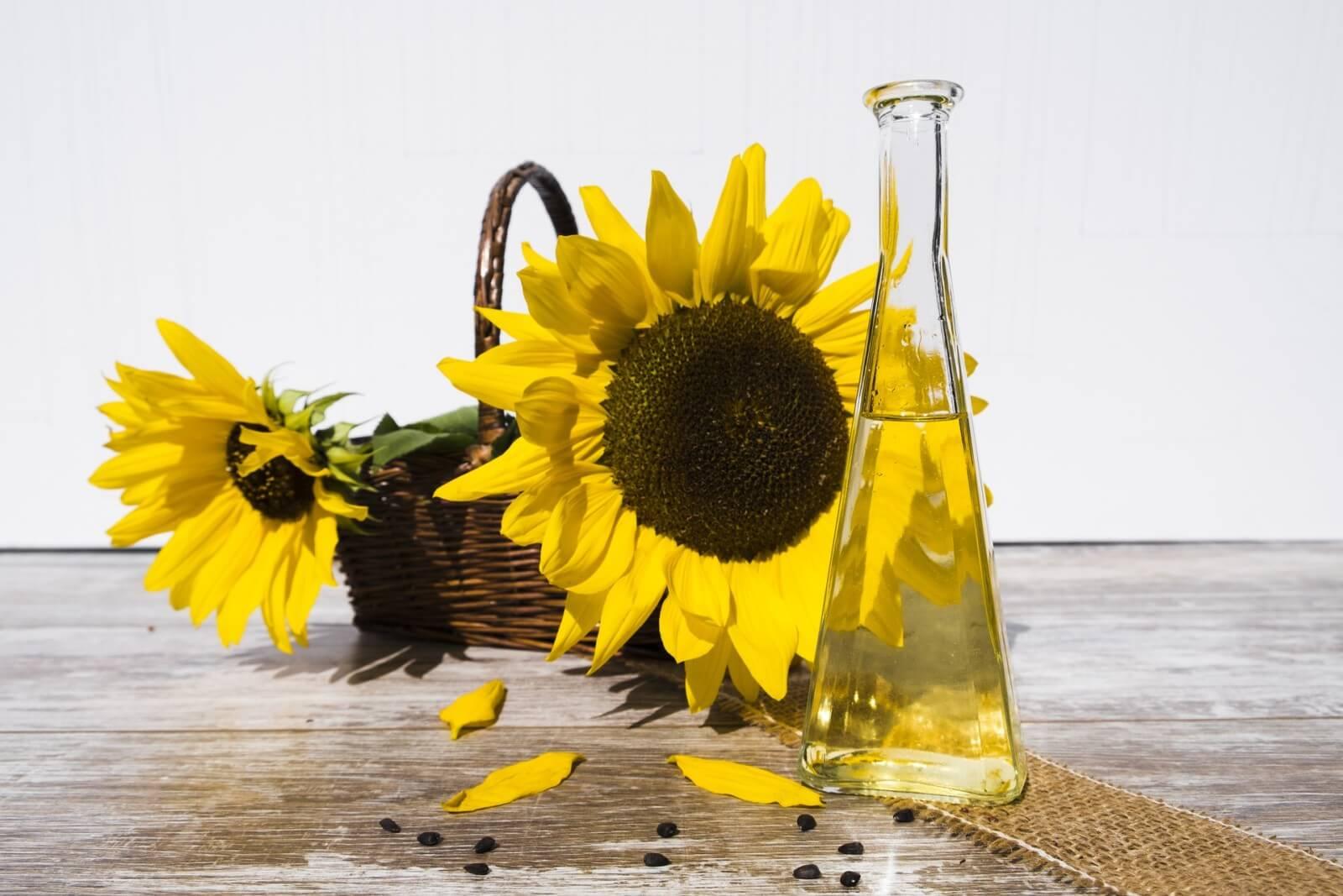растительные масла- подсолнечное