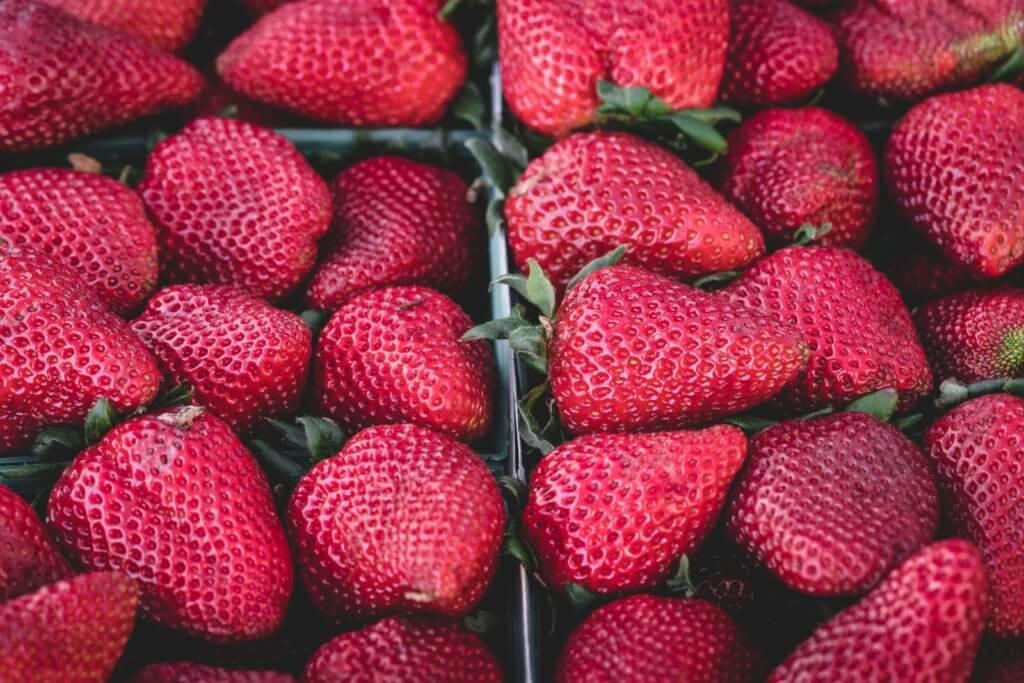 польза ягод: клубника