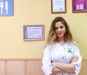 Дарья Сульженко-диетолог