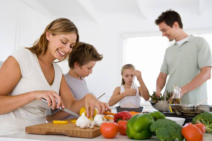 Здоровое питания для всей семьи