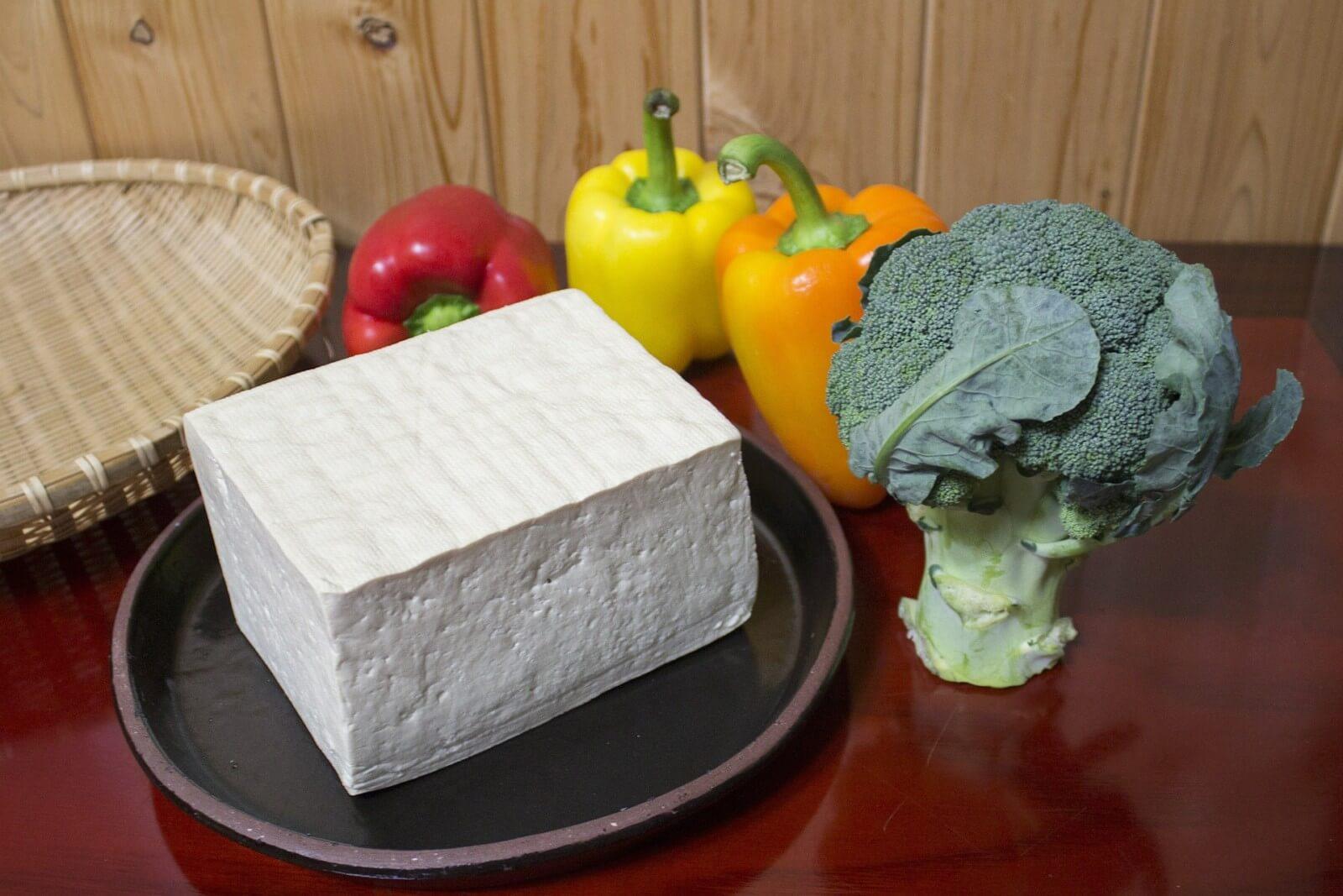 сыры низкой жирности-тофу